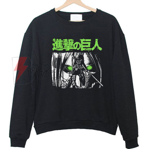 Attack on Titan Green Eyes Sweatshirt