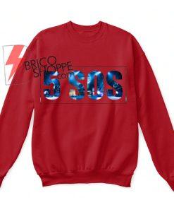 5 SOS Hanes Unisex Crewneck Sweatshirt