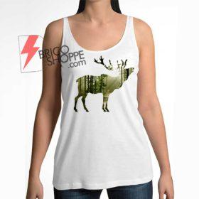 Deer Silhouette Tanktop