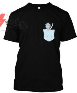 Tiny Rick Pocket buddy! Tshirt