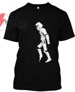 Stormtrooper walking moon TShirt