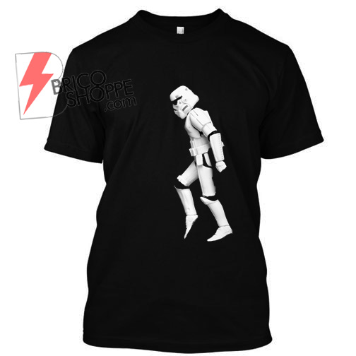 Stormtrooper walking moon TShirt