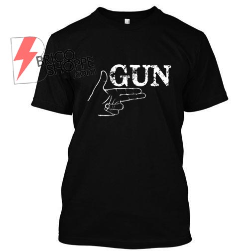 Gun hand TShirt