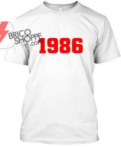 1986 TShirt