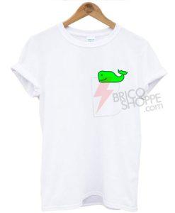 Cute Whale Neon, Summer T-shirt