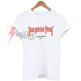 Justin bieber purpose tour T shirt