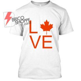Love Canada, Canada Days TShirt