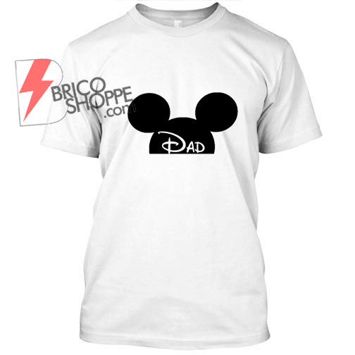 Mickey Mouse Dad T Shirt