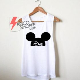 Mickey Mouse Dad Tank Top