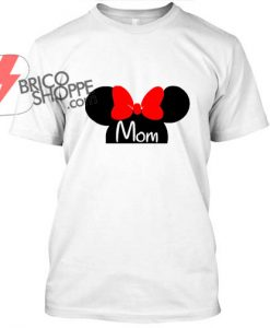 Mini Mouse Mom T Shirt