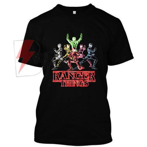 Power Ranger Thinks T Shirt