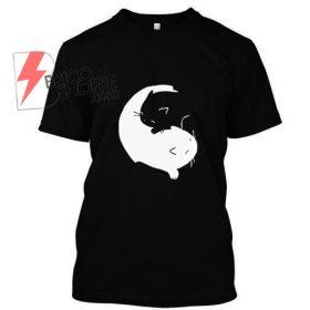 Ying-Yang cat T Shirt