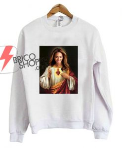 Beyoncé Jesus-sweatshirt