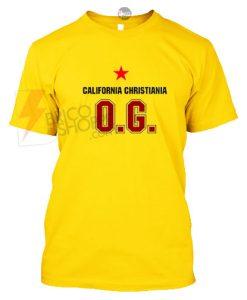 California Christiania Republic OG