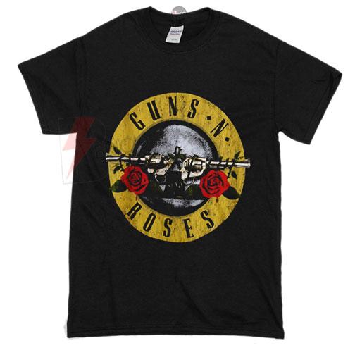Guns N Roses Logo Vintage T-Shirt