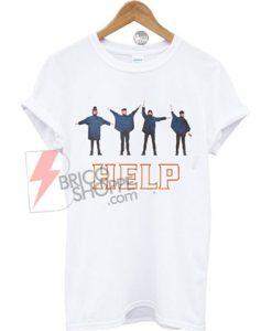 The beatles Help T-shirt
