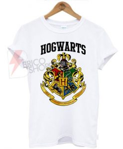 Hogwarts Harry potter Logo T-Shirt