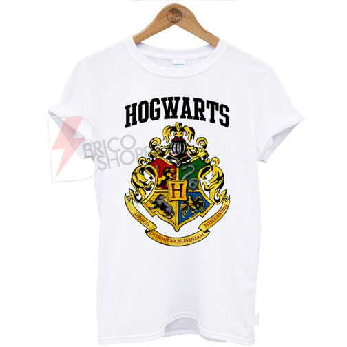 Hogwarts Harry potter Logo T-Shirt