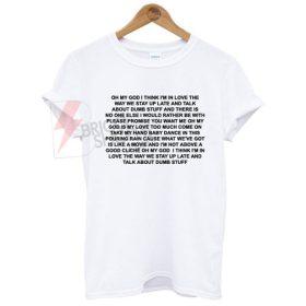 Lany Dumb Stuff T-Shirt