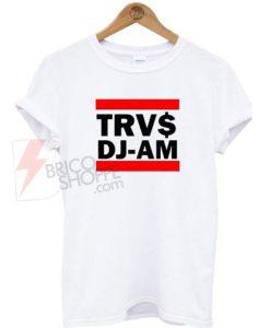 TRVS DJ-AM White T-Shirt