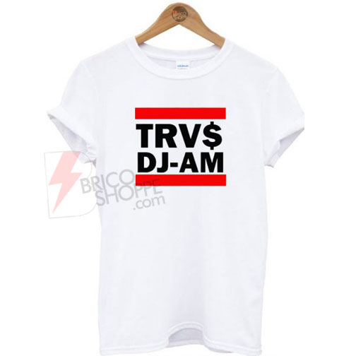 TRVS DJ-AM White T-Shirt