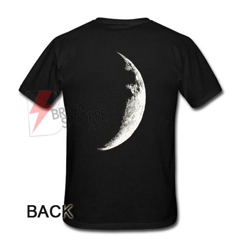 half moon back T-shirt
