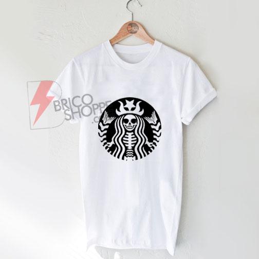 dead-star-bucks-girlT-Shirt