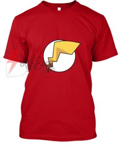 Pokemon-Pikachu-Flash-T-Shirt