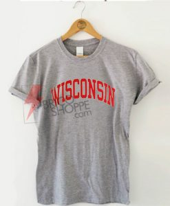 Wisconsin t-shirts On Sale