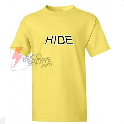 Sell HIDE T-Shirt On Sale