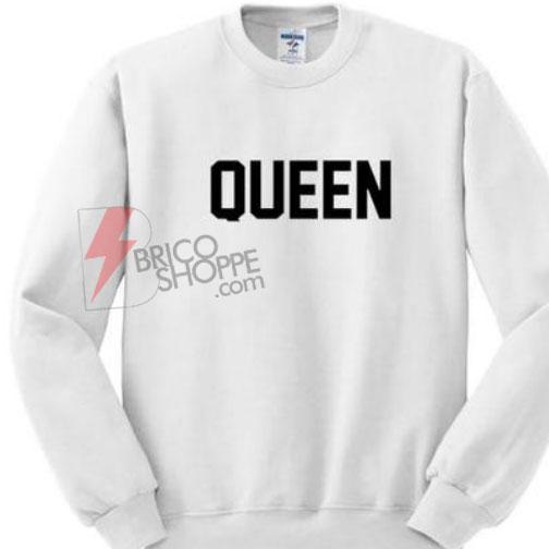 Sell Queen Sweatshirt Size S,M,L,XL,2XL,3XL On Sale