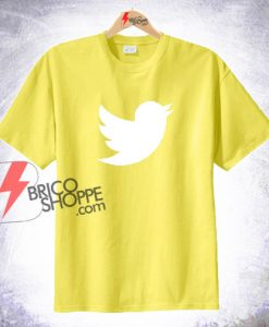 Sell Twitter Logo T-SHIRT On Sale
