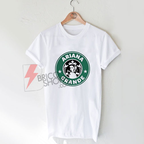 Ariana-Grande-Starbucks-Logo-Shirt-On-Sale