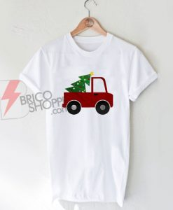Christmas Tree Truck T-Shirt T-Shirt On Sale