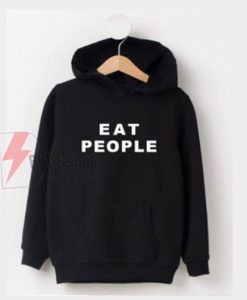 Eat-People-Black-Hoodie-On-Sale