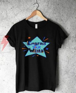 """Felicia Day """"Embrace Your Weird"""" T-Shirt On Sale"""