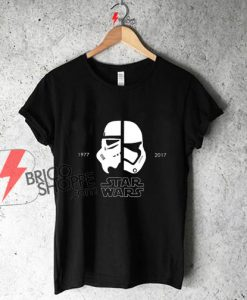 New-Star-Wars-40th-Anniversary-T-shirt,-Stormtrooper---Star-Wars-Shirt-Star-Wars-Art