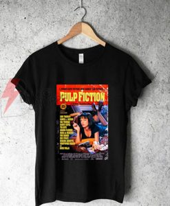 Pulp Fiction Poster T-Shirt