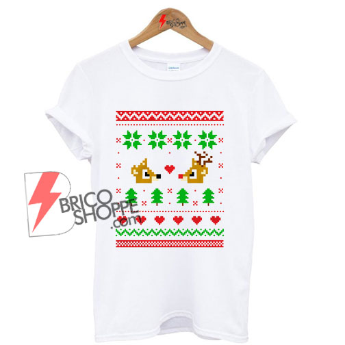 Rudolph-And-Clarice-Shirt,-Cute-Christmas-Shirt,-Rudolph-Christmas