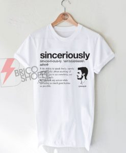 "Stephen Amell ""Sinceriously"" T-Shirt On Sale"