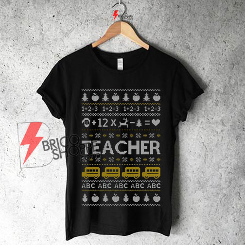 Maternity Christmas Shirt.Teacher Ugly Christmas Shirt On Sale Teachers Xmas Gift Maternity Shirt On Sale