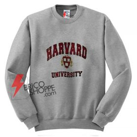Harvard white Logo Sweatshirt On Sale