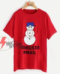 Gangsta Xmas Shirt On Sale