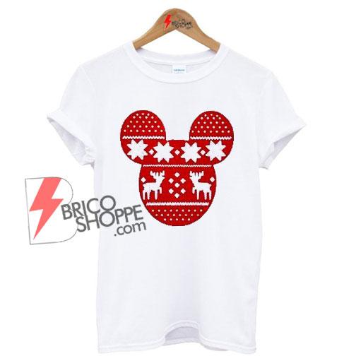 disney mickey mouse ugly christmas shirt on sale