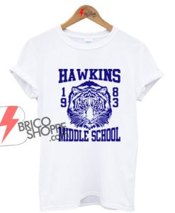 On Sale - HAWKINS MIDDLE SCHOOL Tigers 1983 T-Shirt inspired by the Tv show Stranger Things