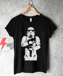 STORMTROOPER CAT Star Wars Shirt On Sale