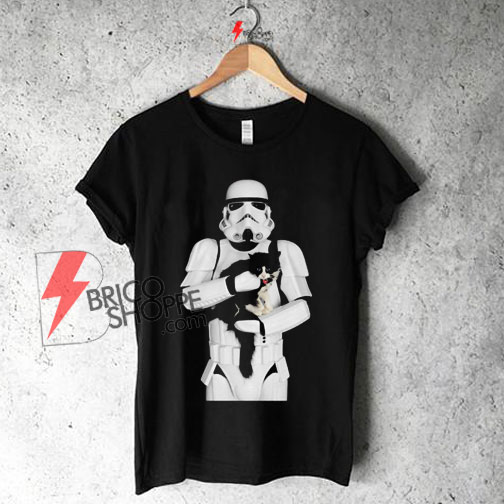 STORMTROOPER CAT Star Wars Shirt On Sale