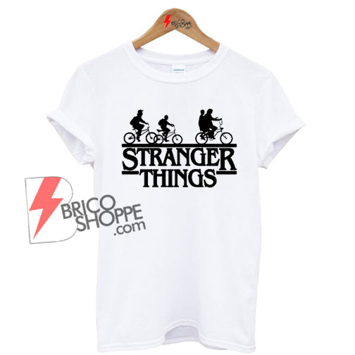 Stranger-things-Bicycle-gang-Shirt-On-Sale