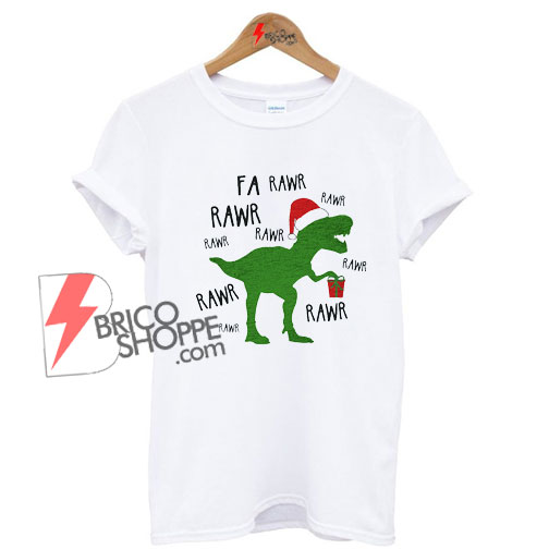 T-Rex-Dinosaur-Christmas-Shirt-On-Sale
