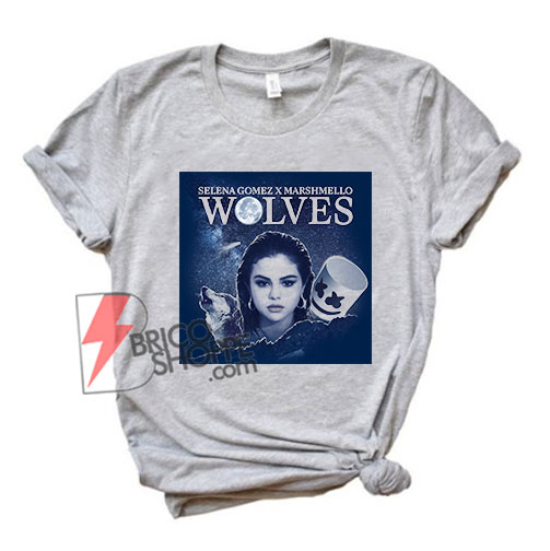 Wolves selena gomez marshmello T-Shirt